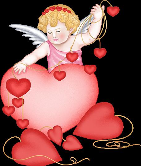 manualidades para san valentin. imagenes de Cupidos para san